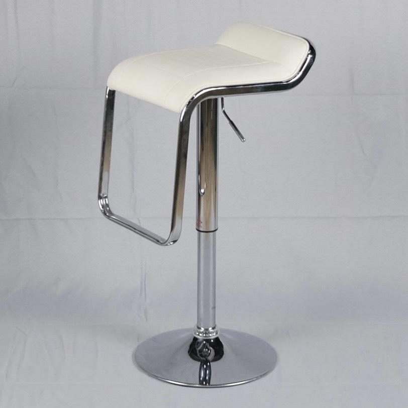 เก้าอี้บาร์ทรงสูงหุ้มหนังพีวีซี