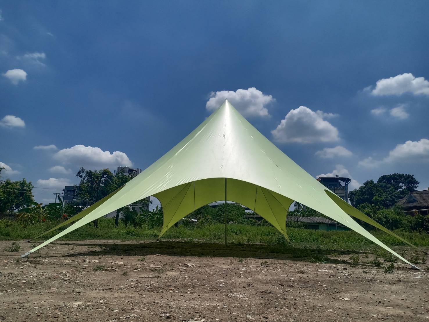 เต็นท์ดาวสีเขียว 14 เมตร